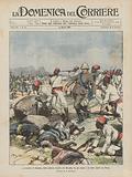 Lo scontro di Danane, nella colonia italiana del Benadir, fra gli ascari e le tribu ribelli dei Bimal