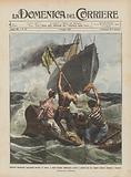 Quattro naufraghi spagnuoli perduti in mare, e, dopo lunghe sofferenze, scorti e salvati …