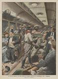 La vita in America, un treno assalito da briganti mascherati che depredarono tutti i viaggiatori