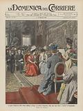 Il primo Congresso delle donne italiane a Roma, la seduta inaugurale nella sala degli Orazi …