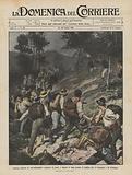 Grossa colonna di contrabbandieri sorpresa di notte e messa in fuga presso il confine fra …