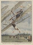I drammi dell'aria, Orville Wright e il tenente americano Selfridge precipitano con l'aeroplano …