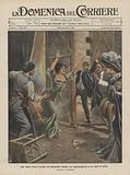 Una valente attrice bruciata sul palcoscenico durante una rappresentazione in un teatro di prosa