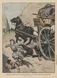 Umili eroi, operaio italiano che, per salvare due bambine, viene travolto e ucciso sotto un carro, a Nizza