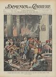 I massacri nella Turchia asiatica, migliaia di armeni bruciati vivi dai turchi in una chiesa cattolica di Adana