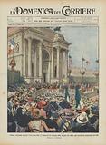 Solenne cerimonia davanti l'Arco della Pace a Milano per la consegna delle insegne del valore agli …