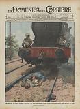 Mirabile atto di valore, fuochista ferroviario che salva una bambina presso Ancona sdraiandosi con …