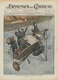 L'orribile catastrofe del dirigibile Republique presso Moulins