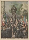 Gloria italiana rivendicata in America, inaugurazione del monumento a G da Verrazzano che primo …