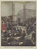 Le cause celebri, processo alle Assise di Viterbo contro una quarantina di camorristi accusati di assassinio