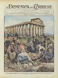 Tesori nascosti che tornano in luce, una grande magnifica statua romana scoperta durante gli scavi …