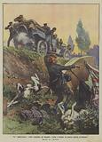 Un globe-trotter serbo scambiato per brigante e preso a fucilate da quattro signori avvinazzati
