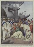Guerra italo-turca, arabi dei dintorni di Tripoli che fanno atto di sottomissione all'Italia …