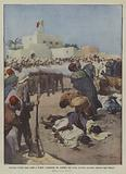 Insidiosa rivolta degli arabi a Tripoli, fucilazione dei traditori che prima avevano accettato …