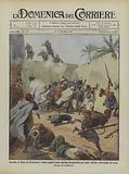 Battaglia di Henni del 26 novembre, audace assalto di una casa dato dai granatieri per colpire …