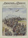 Le esplorazioni aeree alle grandi manovre di cavalleria fra il Ticino e il Mincio
