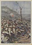 La guerra immane e terribile, valanghe di soldati russi discendono in Prussia ed in Galizia …