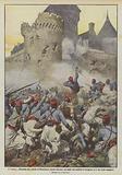 I turcos all'assalto del castello di Mondement, presso Epernay, nel quale era stabilito …