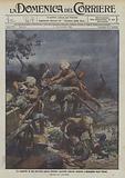 La conquista di una polyeriera presso Osfenda, sentinelle tedesche sorprese e strangolate dagli indiani