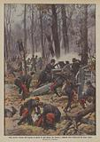 Nella secolare foresta dell'Argonne la guerra di ogni giorno tra francesi e tedeschi dura …