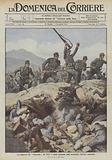 La conquista del trincerone del Mrzli, i nostri giungono sulla formidabile barriera espugnata