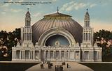 Festival Hall, The Panama-Pacific International Exposition 1915, San Francisco, California