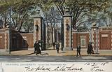 Harvard University, Harvard Gate, Massachusetts Avenue