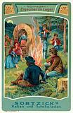 Gypsies in camp