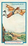 Flying machine built by the locksmith Besnier, 1679