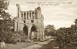 Dryburgh Abbey, St Mary's Aisle, Tomb Of Sir Walter Scott