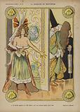 La Marquise De Montespan, Illustration for Le Rire