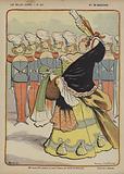 Madame De Maintenon, Illustration for Le Rire
