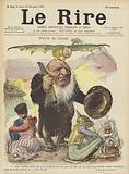 Paul Kruger, Illustration for Le Rire