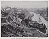 Collier fleet loading near Newcastle-on-Tyne