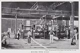 Rolling steel rails