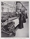 Weaving operators at work in a Great Yorkshire Factory