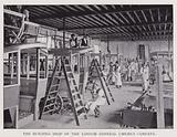 The building shop of the London General Omnibus Company