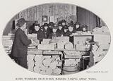 Home workers (match-box makers) taking away work