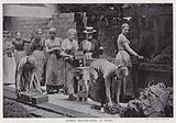 Women brickmakers at work