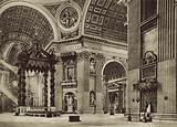 S Peter's Basilica, Inside