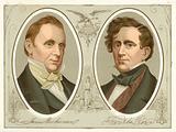 James Buchanan, Franklin Pierce