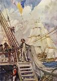 Nelson in chase of the French Fleet