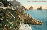Capri, Italy, Piccola Marina, Torre Saracena