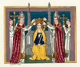 Coronation of Anne Of Bohemia