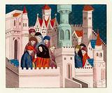 King Richard II with his friends at Conway