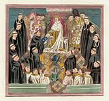 King Henry VI and his Parliament at Bury