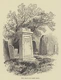 The grave of James Hogg