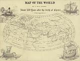 Map of the world as it was known about 150 years after the birth of Christ