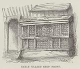 Early glazed shop front