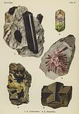 Silicates, tourmaline, staurolite